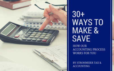 30+ Ways to Make & Save: How Our Accounting Process Works for Your Small Business