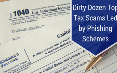 Dirty Dozen Top Tax Scams Led by Phishing Schemes